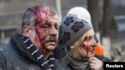 Ukraina poytaxti Kiyevda qonli seshanba