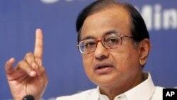 Menteri Keuangan India, P. Chidambaram berupaya menenangkan kekhawatiran terhadap perekonomian India yang melambat (foto: dok).