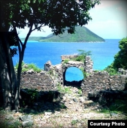 Old Guard House Ruins in the Virgin Islands National Park