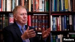마이클 커비 유엔 북안인권 조사위원장 (자료사진)