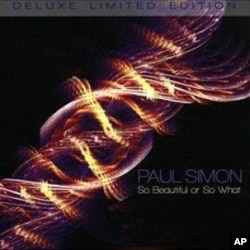 "Paul Simon's ""So Beautiful Or So What"" CD"