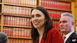 نیوزی لینڈ لیبر پارٹی کی متوقع وزیر اعظم جیسیکا ارڈیرن ۔ 19 اکتوبر 2017