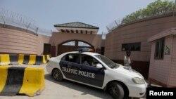 چک شہزاد میں مشرف کی رہائش گاہ جسے سب جیل قرار دیا گیا ہے
