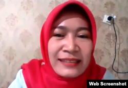 Julianti Siregar, Kepala Sub Direktorat Pemanfaatan Jasa Lingkungan Wisata Alam, KLHK. (Foto: Screenshot)