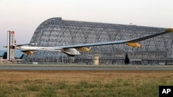 Самолет Solar Impulse взлетел 3 мая в Сан-Франциско (архивное фото)