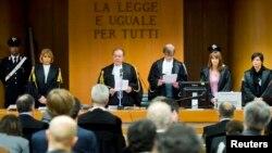 Un tribunal italien à Turin, Italie, 13 février 2012.