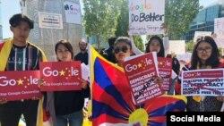 """西藏活動人士慶祝""""終止""""有爭議的""""蜻蜓計劃"""""""