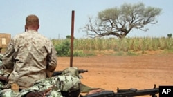 Soldiers from Niger are among many in West and East Africa who have received foreign anti-terrorism training