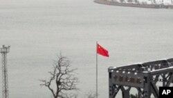 중국-북한을 잇는 압록강 철교 (자료사진)