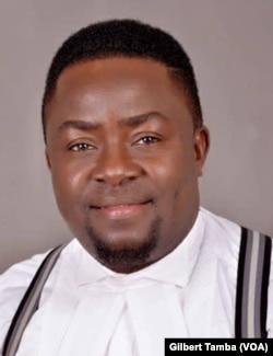 Clement Chukwuemeka, président de la branche d'Abuja du barreau Nigeria, le 26 août 2020. (VOA/Gilbert Tamba)