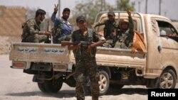 نیروهای دموکراتیک سوریه در حال انتقال به رقه