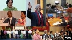 ကြယ္လြန္သူ Kofi Annan ရဲ႕ေခါင္းေဆာင္ပီသမႈအေပၚ ရခိုင္အႀကံေပးေကာ္မရွင္မွာပါ၀င္တဲ့ ရခိုင္တိုင္းရင္းသူ ေဒၚေစာခင္တင့္