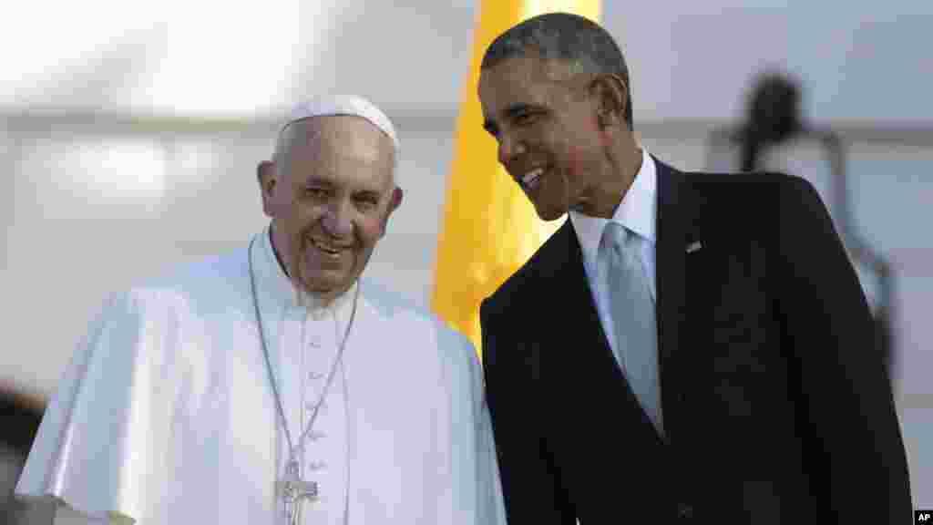 Pope Francis visit to US Washington DC