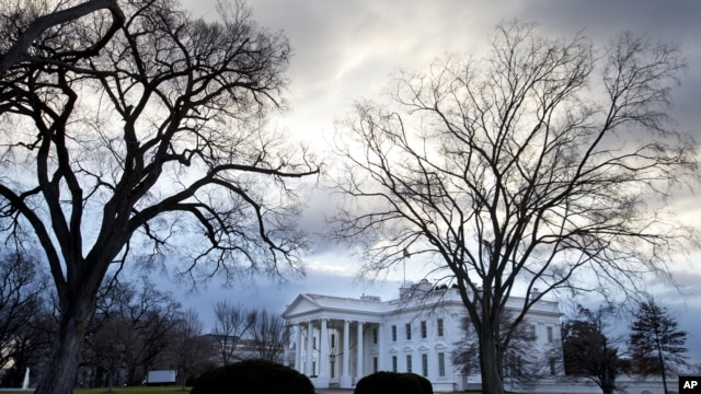 The White House in Washington, D.C.,  December 30, 2012.