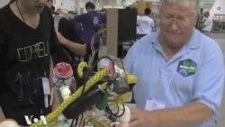 Юные дарования создают роботов будущего