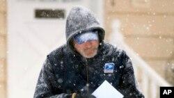 郵差在風雪中派信