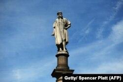 Статуя Колумба в Нью-Йорку