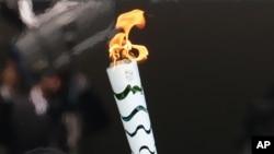 La flamme olympique de RIO 2016