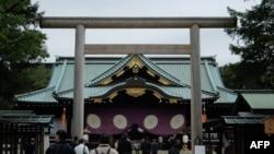 资料照:日本东京靖国神社。