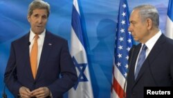 Джон Керри и Биньямин Нетаньяху. Иерусалим. 24 ноября 2015 г.