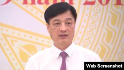 Thứ trưởng Bộ Công an Nguyễn Duy Ngọc phát biểu tại họp báo ngày 4/9/2019. Photo Nhandan TV
