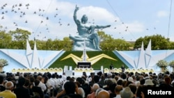 Nagasaki Marks 68th Anniversary of US Atomic Bombing