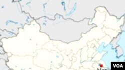 Kota Nanjing, ibukota propinsi Jiangsu.
