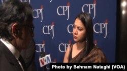 مراسم سالانه اهدای جایزه بین المللی آزادی مطبوعات در نیویورک