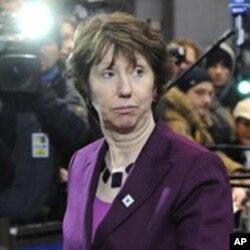 La chef de la diplomatie européenne, Catherin Ashton