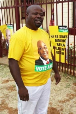 ANC official at the Free State town of Koffiefontein, Tshokolo Mantjies...He says farmers are in fact helping their workers to become involved in politics