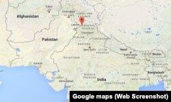 Bản đồ Pathankot, Ấn Độ