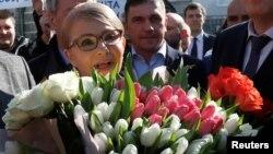 Юлия Тимошенко. Киев, Украина. 31 марта 2019 г.