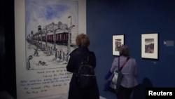Holocaust Art Exhibit