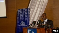 Dr. Michael Ofori-Mensah, IEA's policy analyst