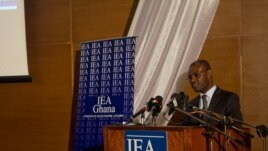 Dr. Michael Ofori-Mensah, IEA's policy analyst