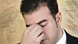 Stress increases during difficult economic times