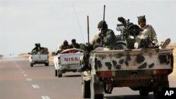 Mayakan 'yan tawayen Libya.