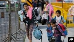 El gobierno ecuatoriano impuso en agosto pasado el requisito de visa humanitaria a los venezolanos que buscan ingresar al país.