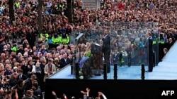 Presidenti Obama thotë se Amerika dhe Irlanda kanë lidhje gjaku