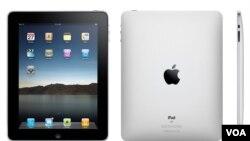 Ciptaan terbaru Apple, komputer tablet dengan layar sentuh, iPad.