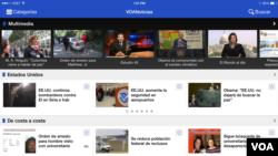 La aplicación para teléfonos móviles y tabletas ofrece el servicio de noticias en 44 idiomas, entre ellos en español orientado al mercado de habla hispana.