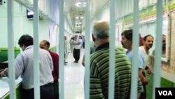 زندانیان در یکی از زندانهای ایران
