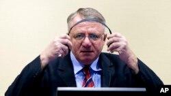 Vojislav Šešelj svojevremeno u sudnici Haškog tribunala