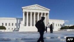 Здание Верховного суда США в Вашингтоне