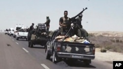 시아파와 수니파 친정부 세력의 지원을 받는 이라크 정부군 병력이 팔루자 일대 ISIL 거점 지역 공격을 준비하고 있다. (자료사진)