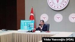 1 Nisan 2020 - Ankara, Sağlık Bakanı Fahrettin Koca