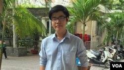 Trần Hoàng Phúc. (Hình: Người Việt)