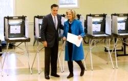 Romney Kembali ke Massachusetts untuk Memilih - Amerika Memilih 2012