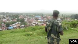 RDC, Nord Kivu, Bunagana, février 2013 (VOA/Nicolas Pinault)