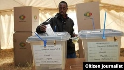 Zimbabwe conducted a general election in July which was resoundingly won by President Robert Mugabe's party though opposition parties dispute the outcome of the poll. (Photo/Zimbabwe Human Rights newsletter)